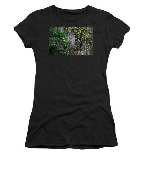 Barn Window Vine Women's T-Shirt