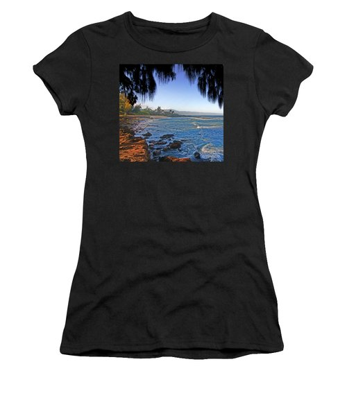 Beach On North Shore Of Oahu Women's T-Shirt