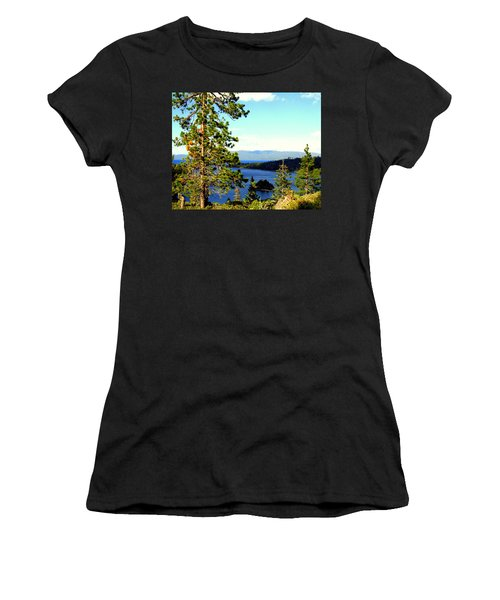 Beautiful Tahoe Women's T-Shirt (Athletic Fit)