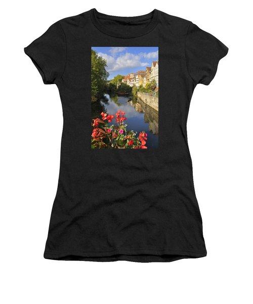 Beautiful Tuebingen In Germany Women's T-Shirt (Athletic Fit)