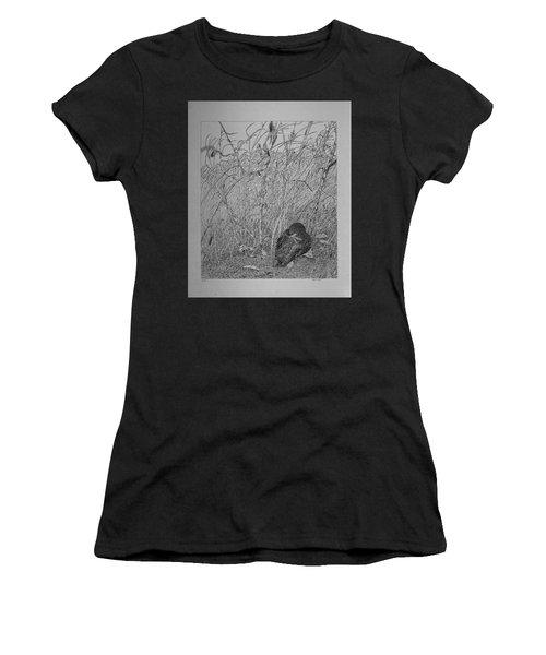 Bird In Winter Women's T-Shirt