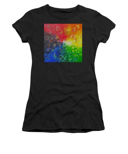 Birth Of Color Women's T-Shirt (Athletic Fit)