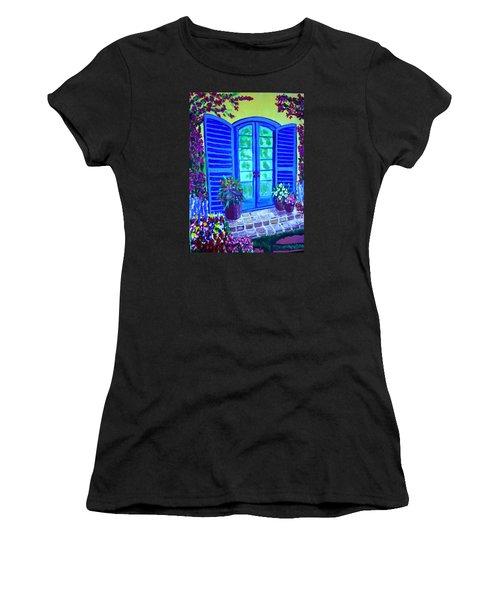 Blue Shutters Women's T-Shirt