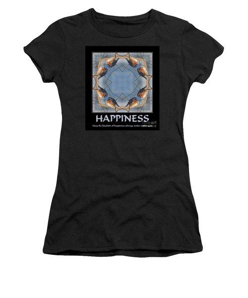 Bluebird Kaleidoscope Happiness Women's T-Shirt