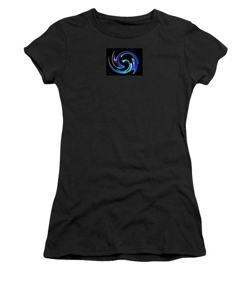 Dancing Blues Women's T-Shirt (Athletic Fit)