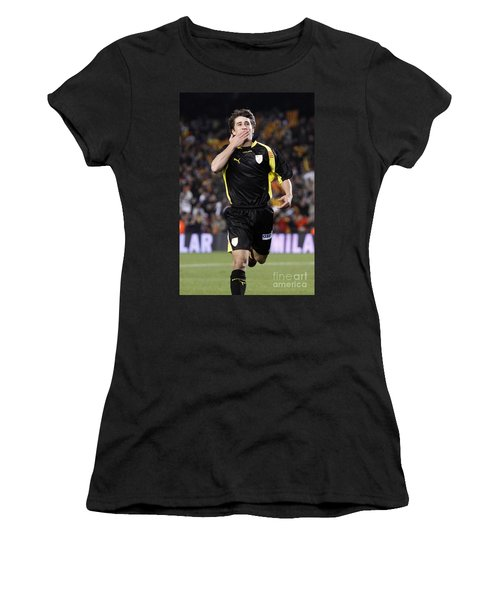 Bojan Krkic Celebrating A Goal 2 Women's T-Shirt