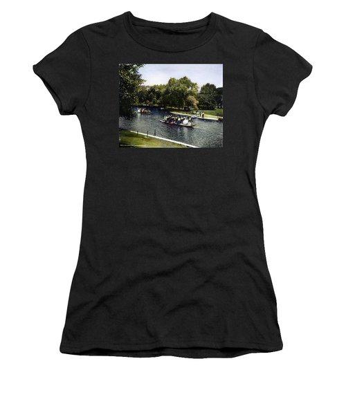 Boston: Swan Boats, C1900 Women's T-Shirt