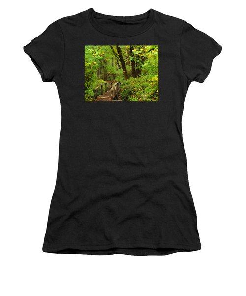 Bridge To A Fairytale Women's T-Shirt (Athletic Fit)