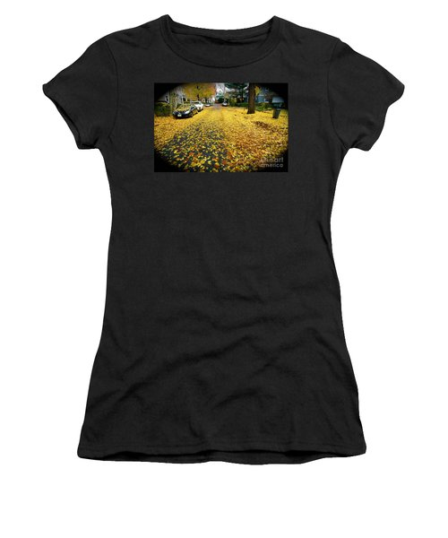 Brooklyn New York Women's T-Shirt (Junior Cut) by Mark Gilman