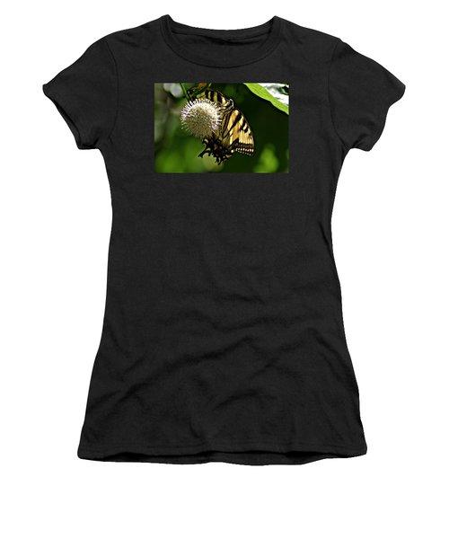 Butterfly 2 Women's T-Shirt (Junior Cut) by Joe Faherty