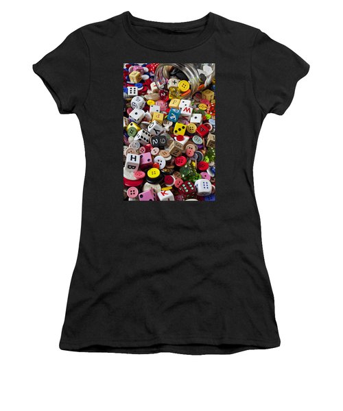 Buttons And Dice Women's T-Shirt