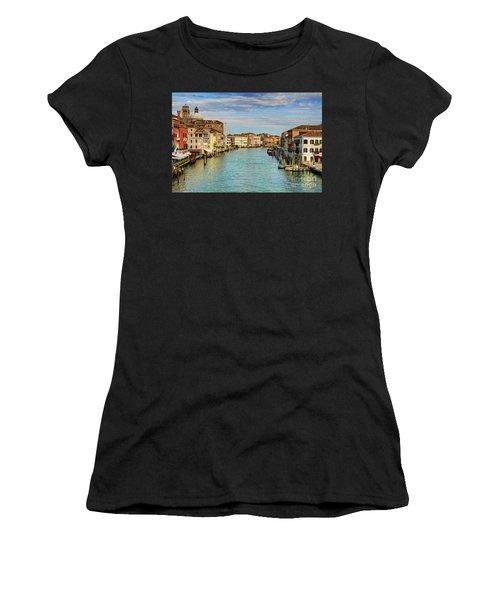 Canals Of Venice  Women's T-Shirt