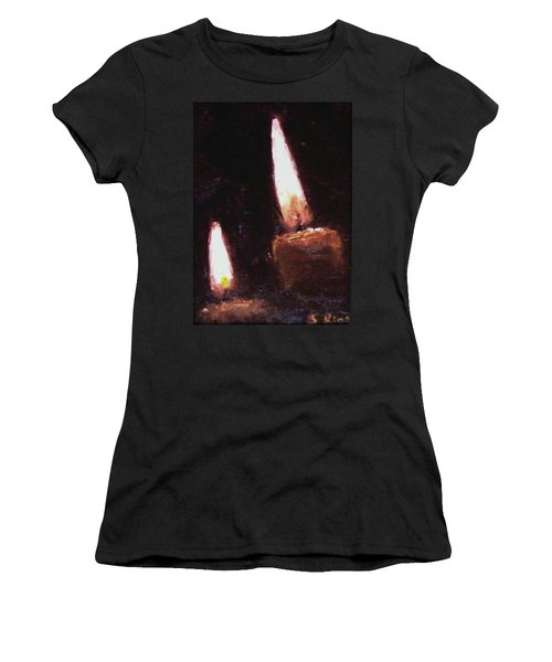 Candle Glow Women's T-Shirt