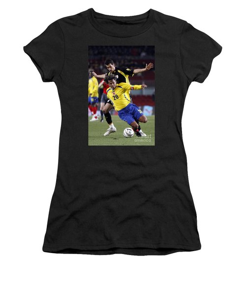Women's T-Shirt featuring the photograph Carlos Busquets 3 by Agusti Pardo Rossello
