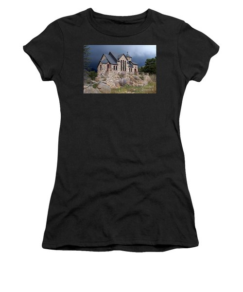 Chapel On The Rocks No. 1 Women's T-Shirt (Athletic Fit)