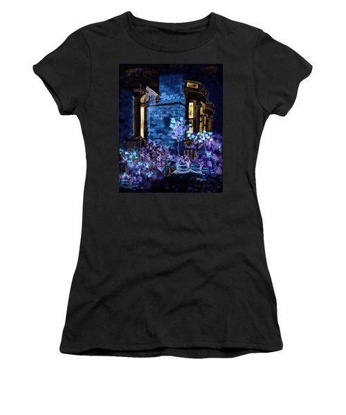 Chelsea Row At Night Women's T-Shirt (Athletic Fit)