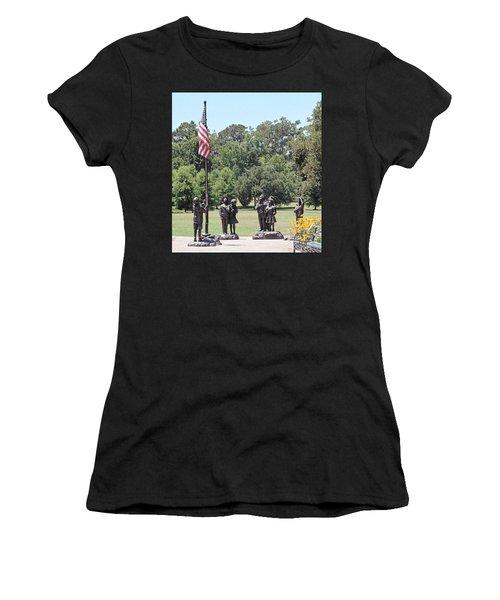 Children Raise The Flag Women's T-Shirt (Athletic Fit)