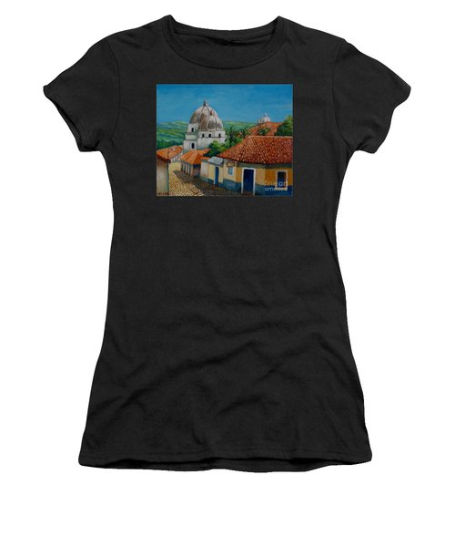 Church Of Pespire In Honduras Women's T-Shirt (Athletic Fit)