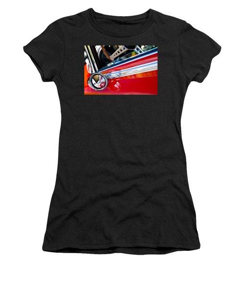 Classic Red Car Artwork Women's T-Shirt