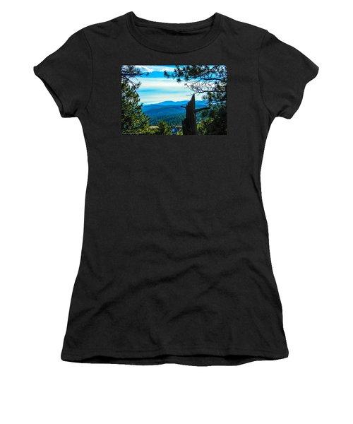 Women's T-Shirt (Junior Cut) featuring the photograph Colorado View by Shannon Harrington