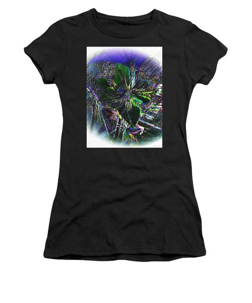 Women's T-Shirt (Junior Cut) featuring the photograph Colorful by Donna Brown