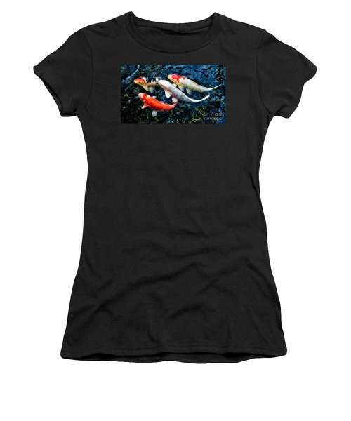 Colorful Swimmers Women's T-Shirt