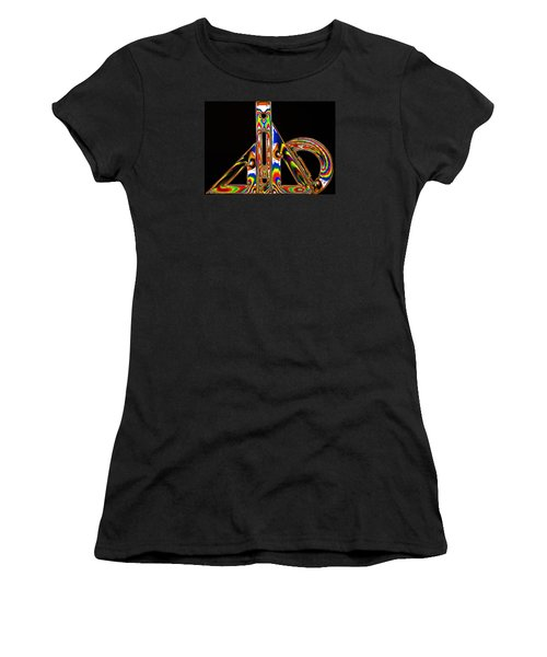 Women's T-Shirt (Junior Cut) featuring the photograph Colourful Geometry by Steve Purnell