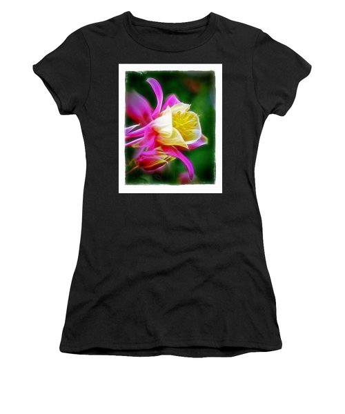 Columbine Women's T-Shirt (Junior Cut) by Judi Bagwell