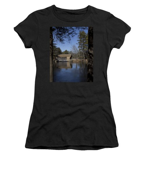 Cool Winter Morning Women's T-Shirt (Athletic Fit)