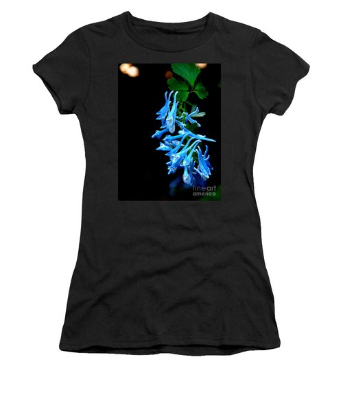 Women's T-Shirt (Junior Cut) featuring the photograph Corydalis  by Tanya  Searcy