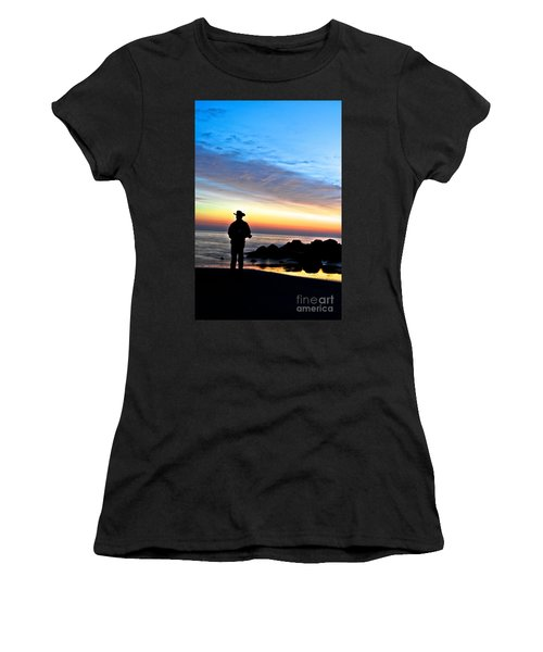Cowboy Sunrise Women's T-Shirt (Athletic Fit)