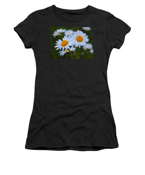 Women's T-Shirt (Junior Cut) featuring the photograph Daisy by Athena Mckinzie