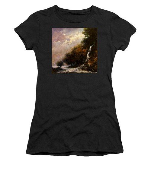 Daybreak Falls Women's T-Shirt
