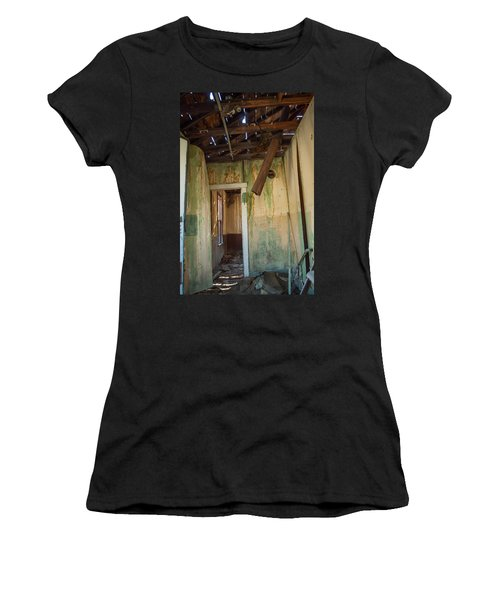 Women's T-Shirt (Junior Cut) featuring the photograph Deterioration by Fran Riley