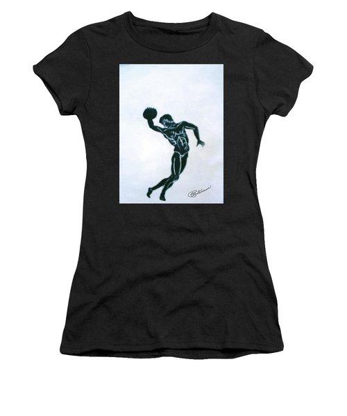 Disc Thrower Women's T-Shirt