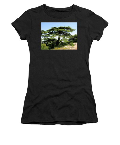 Do-00511 Cedar Forest Women's T-Shirt (Athletic Fit)
