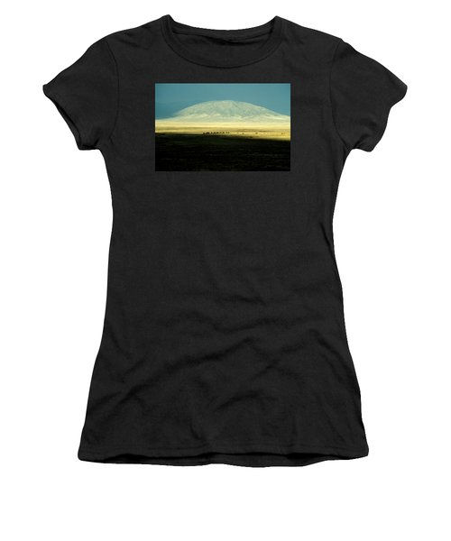 Dome Mountain Women's T-Shirt (Junior Cut) by Brent L Ander