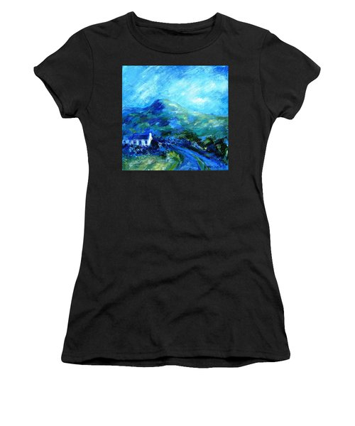 Eagle Hill Lane -ireland  Women's T-Shirt (Athletic Fit)