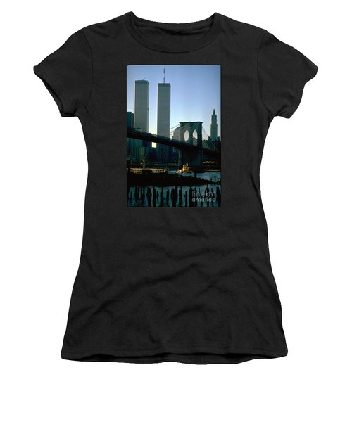 East River Tugboat Women's T-Shirt (Athletic Fit)