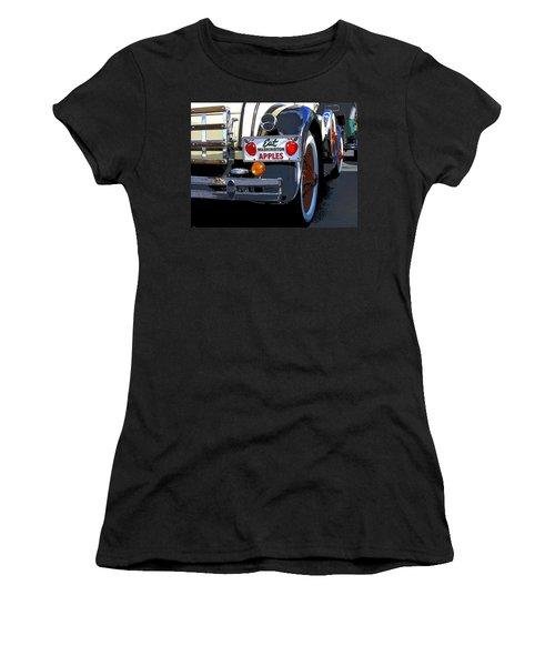 Eat Washington Apples2 Women's T-Shirt (Junior Cut) by Anne Mott