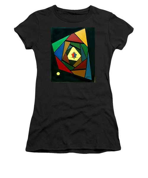 Eccentric Women's T-Shirt (Athletic Fit)