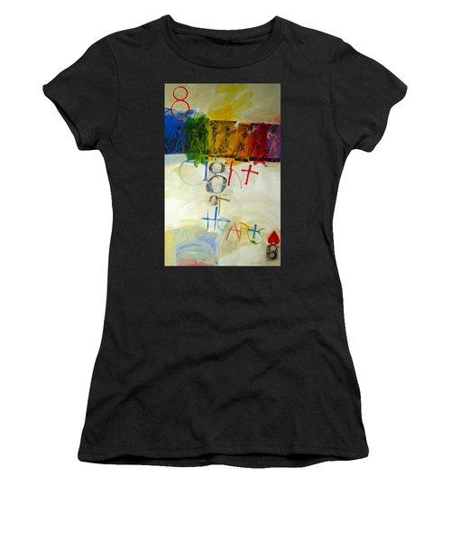 Eight Of Hearts 34-52 Women's T-Shirt
