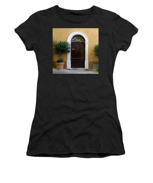 Enchanting Door Women's T-Shirt (Junior Cut) by Lainie Wrightson