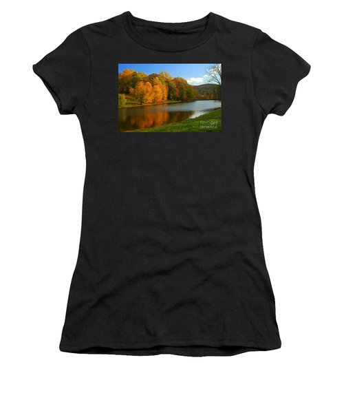 Fall In New York State Women's T-Shirt (Athletic Fit)