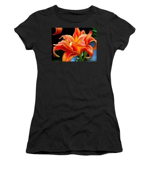 Flaming Flower Women's T-Shirt