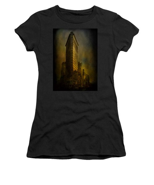 Flatiron Building...my View..revised Women's T-Shirt (Athletic Fit)