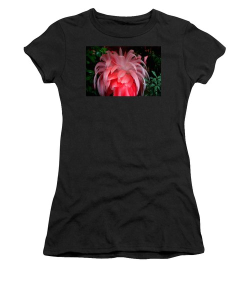 Women's T-Shirt (Junior Cut) featuring the photograph Flora And Fauna Number Two by Lon Casler Bixby