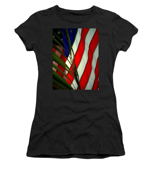 Floridamerica Women's T-Shirt (Athletic Fit)