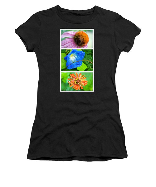 Flower Collage Part Two Women's T-Shirt