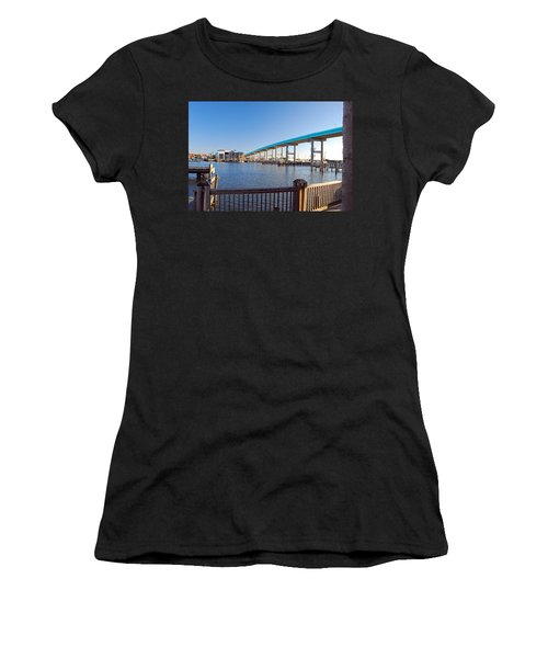 Fort Myers Bridge Women's T-Shirt (Athletic Fit)